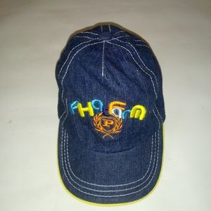 PHAT FARM UNISEX  BLUE denim hat